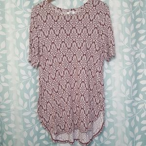 Old Navy Woman's Blouse Flower Print